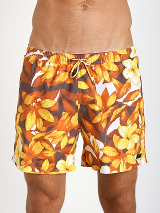 Hugo Boss Piranha Swim Shorts Orange Print