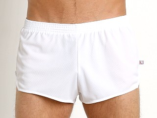 Complete the look: American Jock Sprint Running Short White