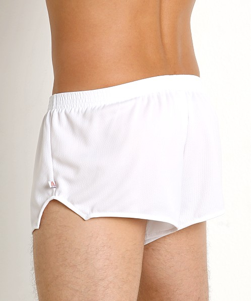 American Jock Sprint Running Short White