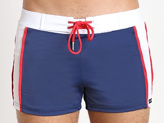 You may also like: Sauvage Patriot Sport Swim Trunk Navy White Red