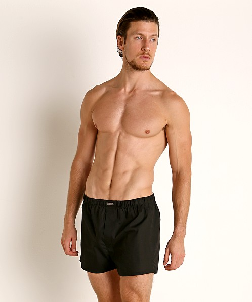Calvin Klein Cotton Classics Woven Boxer 3-Pack Black Multi