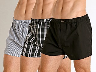 Calvin Klein Cotton Classics Woven Boxer 3-Pack Tide Multi