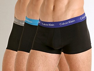 You may also like: Calvin Klein Cotton Stretch Low Rise Trunk 3-Pack Black Multi