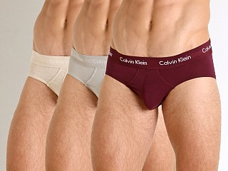 You may also like: Calvin Klein Cotton Stretch Hip Brief 3-Pack Grey/Oatmeal/Raisi