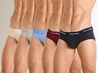 You may also like: Calvin Klein Cotton Stretch 5-Pack Hip Brief Blue/Shoreline/Grey