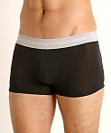 Calvin Klein Cotton Stretch Low Rise Trunk 3-Pack Black Multi, view 3