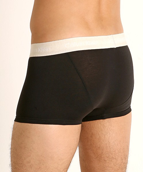 Calvin Klein Cotton Stretch Low Rise Trunk 3-Pack Black Multi