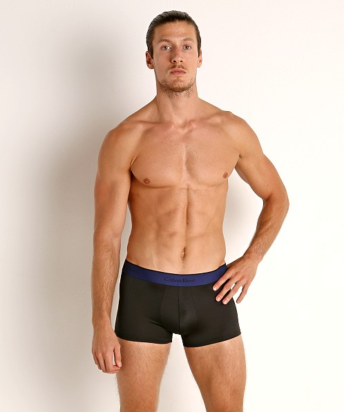 Calvin Klein Micro Stretch Low Rise Trunks 3-Pack Black Multi