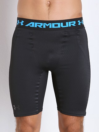 Model in black Under Armour Clutchfit 2.0 Second Skin Compression Short