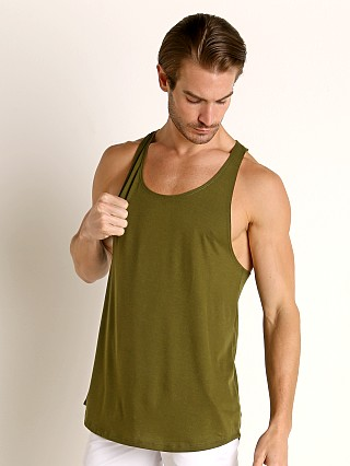 Complete the look: LASC Gym Tank Top Army