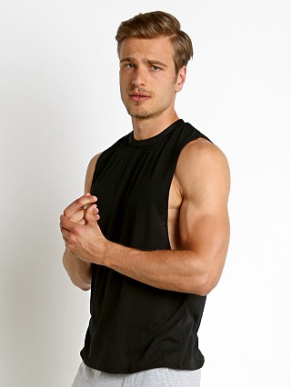 Complete the look: LASC Deep Cut Out Tank Top Black
