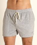 LASC Volley Gym Short Heather Grey, view 3