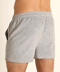LASC Volley Gym Short Heather Grey, view 4
