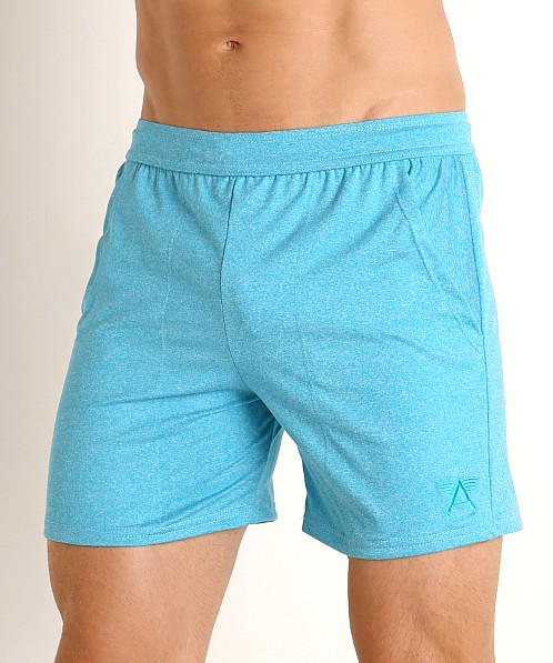 LASC Performance Training Shorts Heather Caribbean