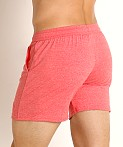 LASC Performance Training Shorts Heather Red, view 4