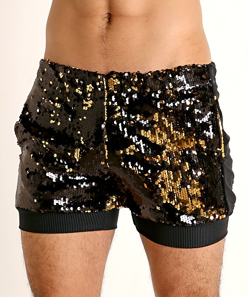 LASC Transformer Sequined Sparkle Trunk Black/Gold