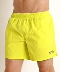 Hugo Boss Perch Swim Shorts Neon Yellow, view 3