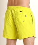 Hugo Boss Perch Swim Shorts Neon Yellow, view 4