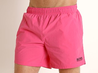 Hugo Boss Perch Swim Shorts Neon Pink
