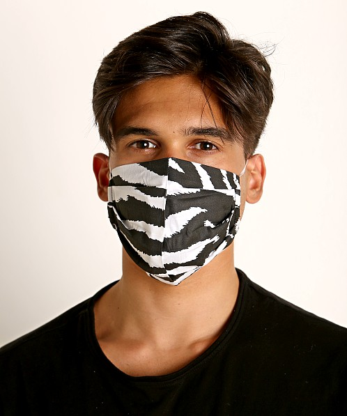 LASC Fashion Face Mask Zebra Print