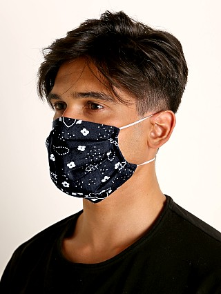 You may also like: LASC Fashion Face Mask Bandana Print Black