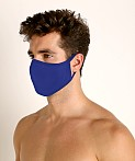 LASC Stretch Cotton Face Mask Cobalt, view 1