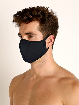 Complete the look: LASC Stretch Cotton Face Mask Black