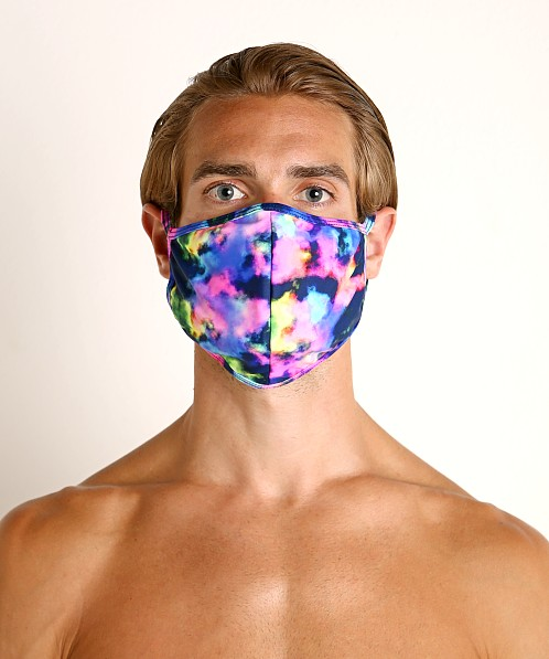 LASC Fashion Face Mask Neon Clouds