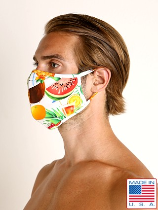 LASC Fashion Face Mask Tropical Picnic