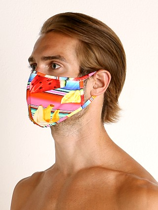 Complete the look: LASC Fashion Face Mask Fruit Stripes