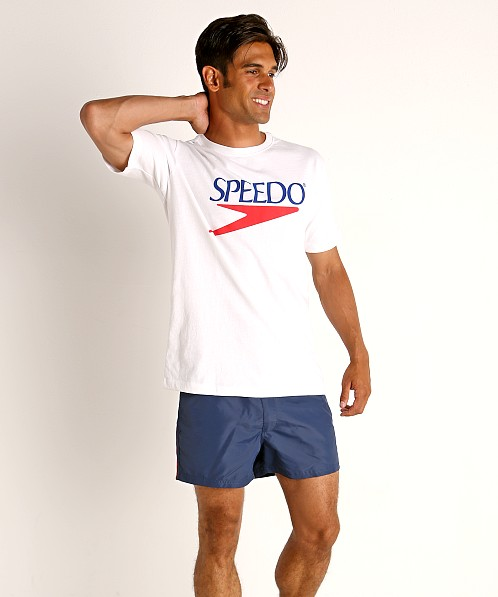 Speedo Vintage Logo T-Shirt White