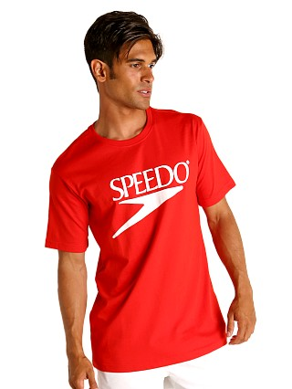 Complete the look: Speedo Vintage Logo T-Shirt Red