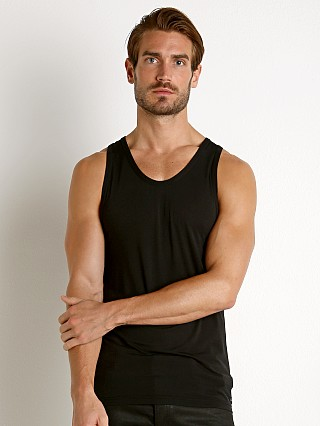 Calvin Klein Ultra Soft Modal Lounge Tank Top Black