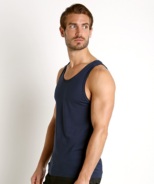 Calvin Klein Ultra Soft Modal Lounge Tank Top Blue Shadow
