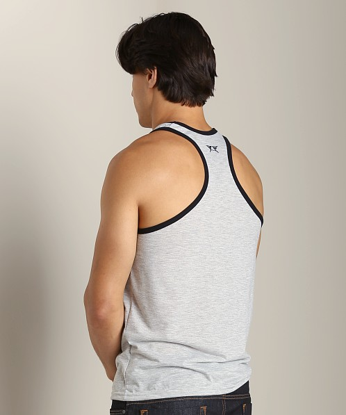 LASC Gymnast Tank Gray/Black