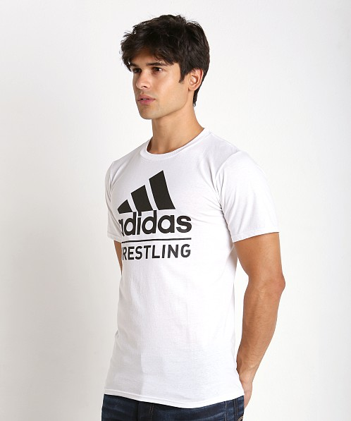 Adidas Wrestling Team T-Shirt White/Black