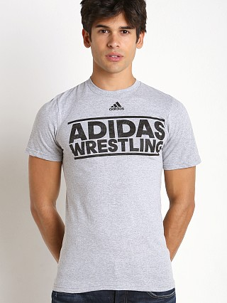Adidas Wrestling Team T-Shirt Grey/Black