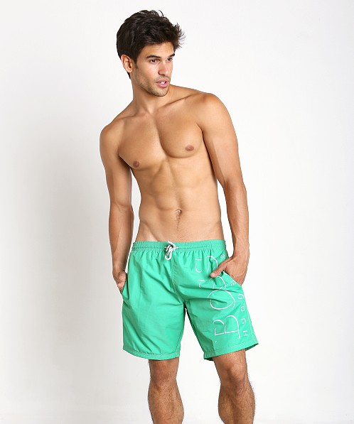 Hugo Boss Killifish Swimsuit Teal