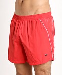 Hugo Boss Acava Swim Shorts Red, view 3