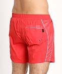 Hugo Boss Acava Swim Shorts Red, view 4