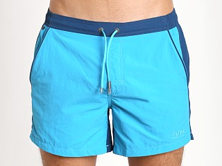 Hugo Boss Snapper Swim Shorts Turquoise/Blue