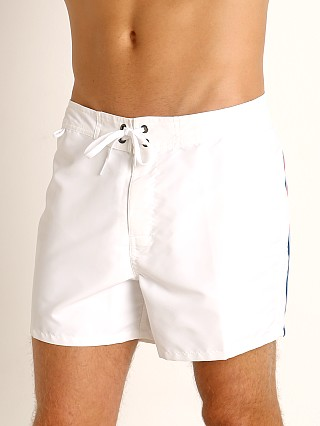 "Sundek 14"" Classic Low-Rise Boardshort White #34"