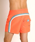 "Sundek 14"" Classic Low-Rise Boardshort Fluo Orange #9, view 4"