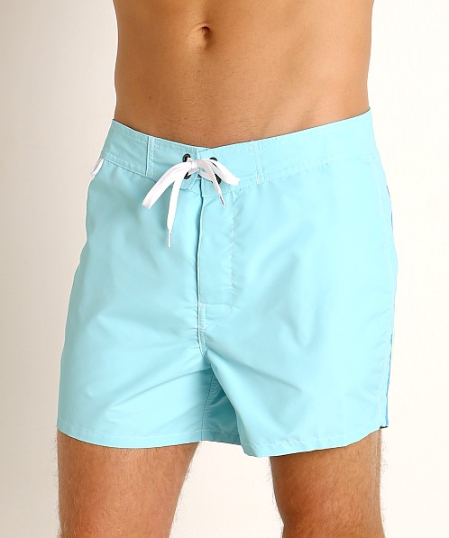 "Sundek 14"" Classic Low-Rise Boardshort Waterfall Blue #2"