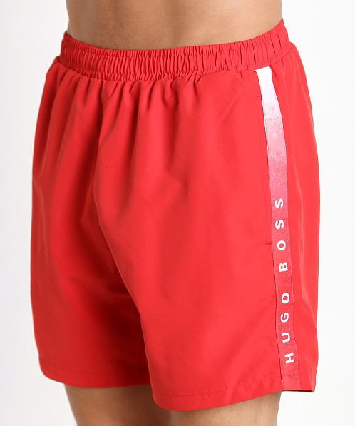 Hugo Boss Seabream Swim Shorts Red