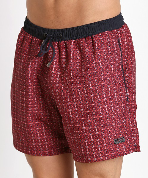 Hugo Boss Kingfish Swim Shorts Red