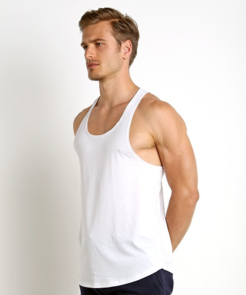 LASC Gym Tank Top White