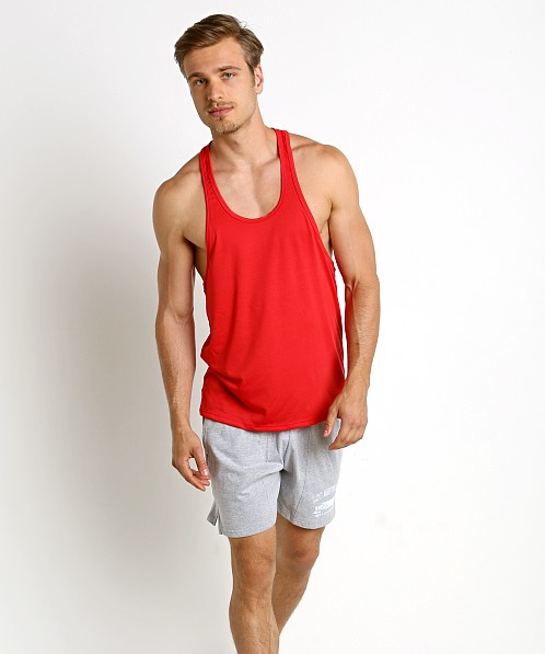 LASC String Tank Top Red