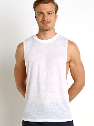 Complete the look: LASC Deep Cut Out Tank White