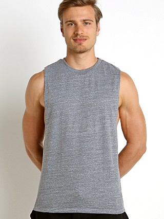 Complete the look: LASC Deep Cut Out Tank Heather Grey